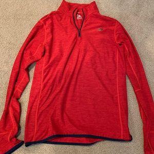 New Balance - Half Zip - Light Weight Jacket - Red